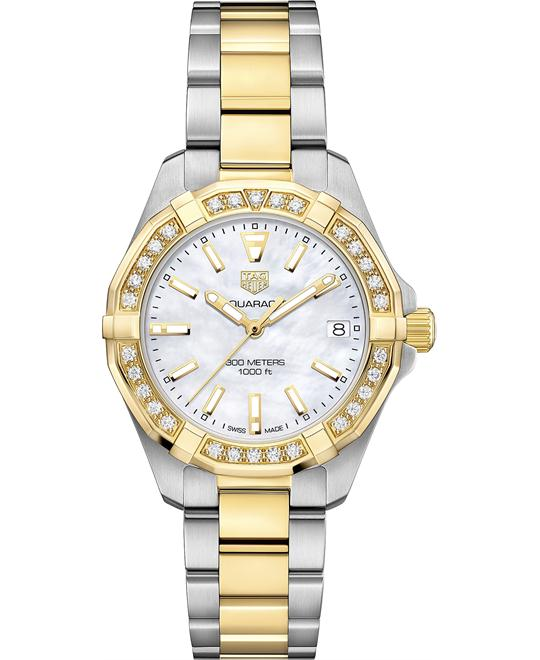 TAG HEUER WBD1321.BB0320 AQUARACER DIAMOND 32MM