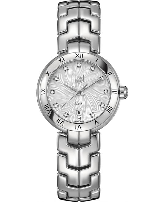 TAG Heuer WAT1411.BA0954 Link Diamond Watch 29mm