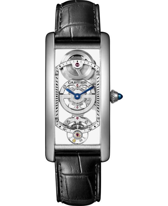 Cartier Tank WHTA0009 Limited Watch 23mm X 46.5mm
