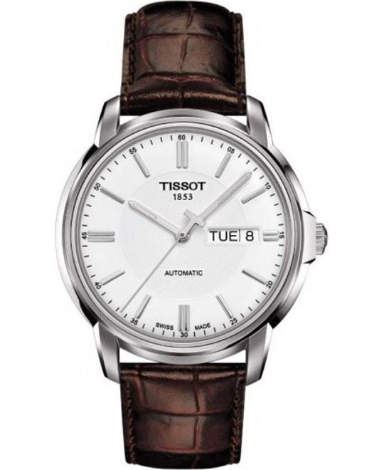 TISSOT T065.430.16.031.00 Automatic III White Watch 38mm