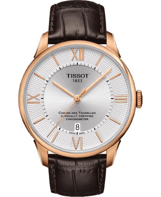 dong ho Tissot Chemin T099.408.36.038.00 Watch 42mm