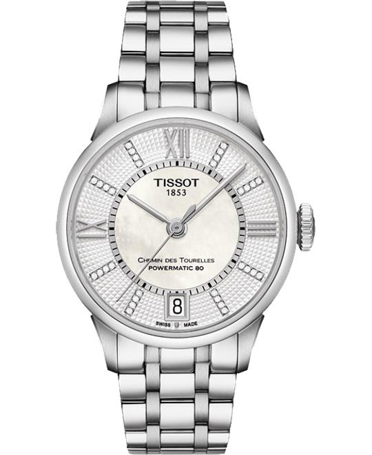 TISSOT CHEMIN T099.207.11.116.00 Watch 32mm