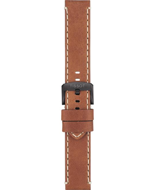 Tissot Chrono XL Brown Leather Strap 22mm