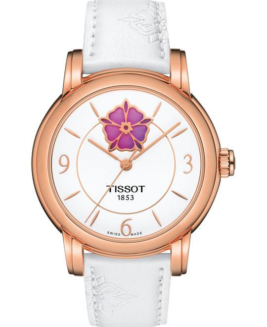 dong ho Tissot Lady Heart T050.207.37.017.05 Flower 35mm