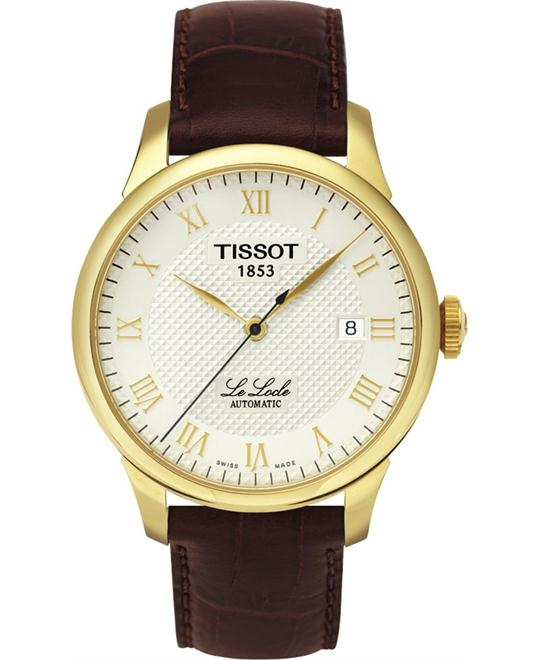 TISSOT T41.5.413.73 LE LOCLE AUTO watch 39mm