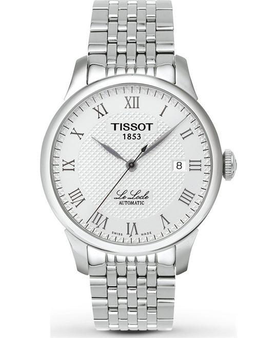 Tissot T41.1.483.33 Le Locle Textured Auto Watch 39mm