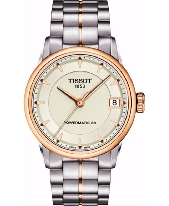dong ho TISSOT LUXURY T086.207.22.261.01 Watch 33mm