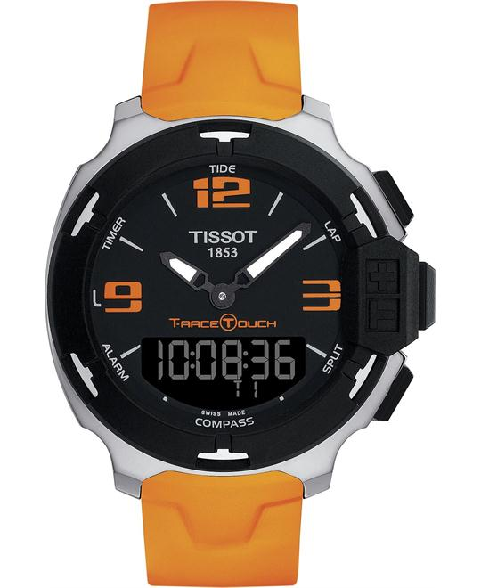 TISSOT T-Race T081.420.17.057.02 Digital Orange Watch 42mm