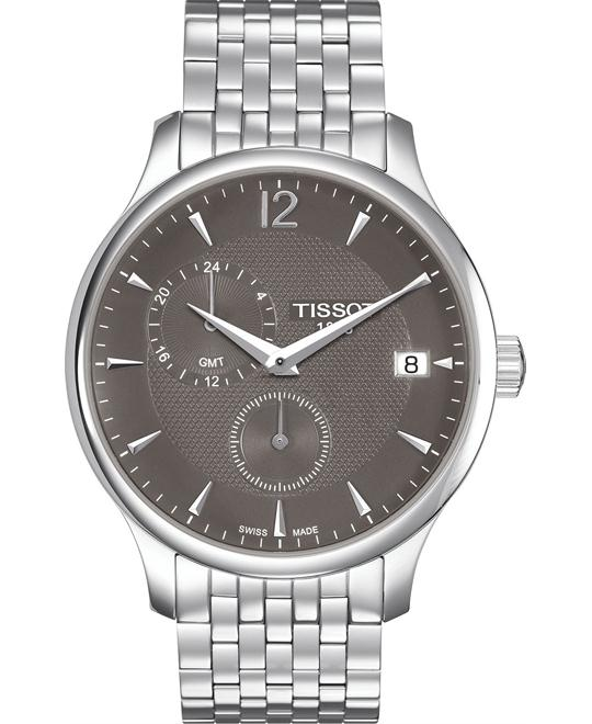 Tissot Tradition T063.639.11.067.00 GMT Watch 42mm