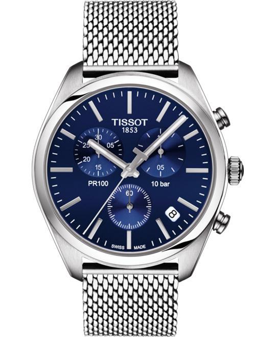 dong ho nam Tissot PR 100 T101.417.11.041.00 Chronograph Watch 41mm
