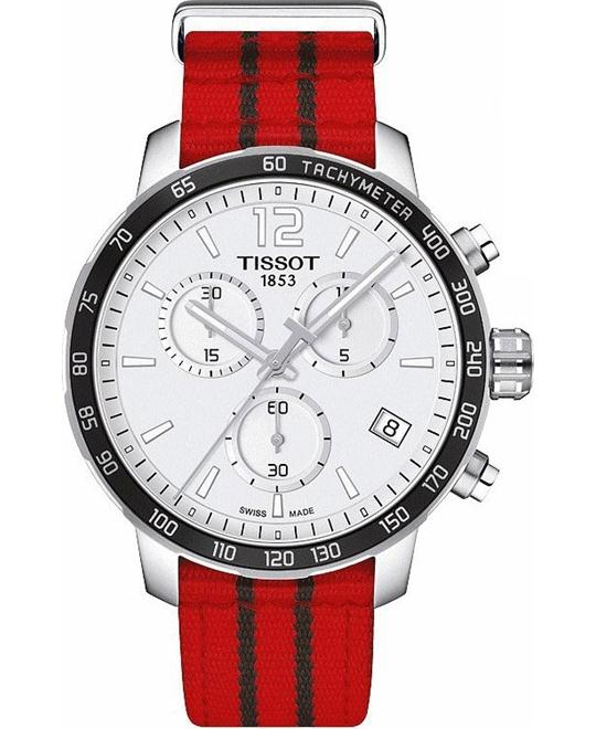 TISSOT Quickster T095.417.17.037.04 Chicago Watch 42mm