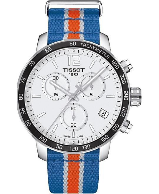 TISSOT Quickster T095.417.17.037.06  Knicks Watch 42mm