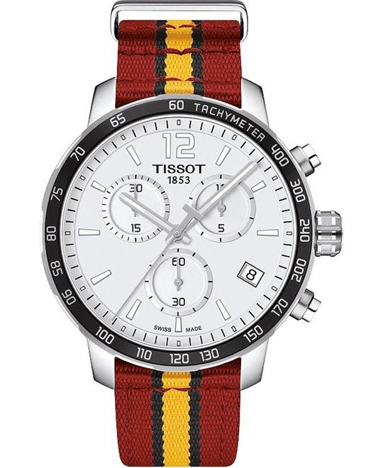 TISSOT Quickster T095.417.17.037.08 Watch 42mm