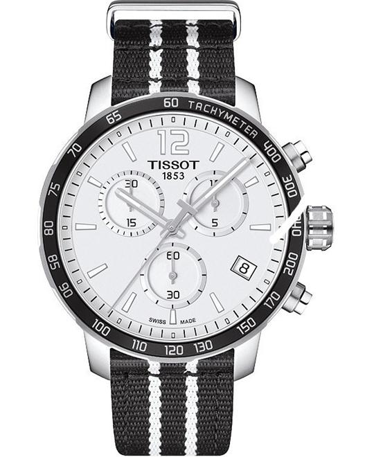 TISSOT Quickster T095.417.17.037.07 Spurs Watch 42mm