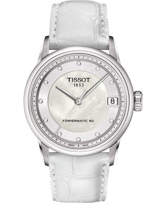 TISSOT LUXURY T086.207.16.116.00 POWERMATIC 80 LADY Watch 33mm