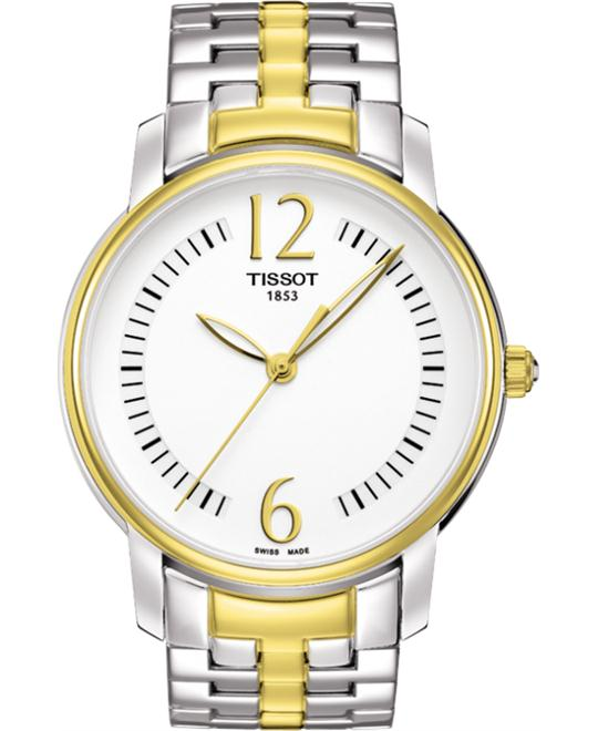 Tissot T-Trend T052.210.22.037.00 Silver Dial Watch 38mm