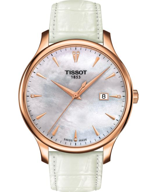 TISSOT T063.610.36.116.01 TRADITION Watch 42mm