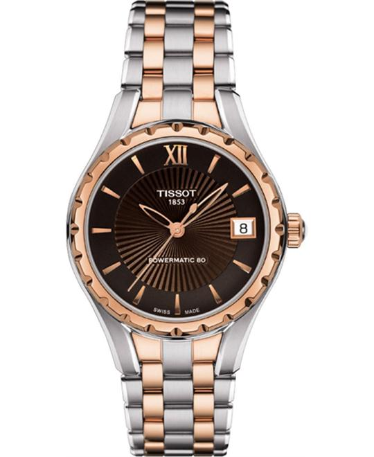 Tissot T072.207.22.298.00 Lady 80 Automatic Watch 34mm