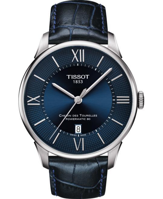dong ho Tissot Chemin T099.407.16.048.00 Des Tourelles 42mm