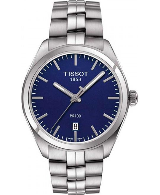dong ho Tissot PR 100 T101.410.11.041.00 Blue Watch 38mm