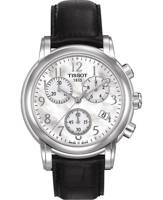 TISSOT T050.217.16.112.00 Classic Sport Watch 35mm