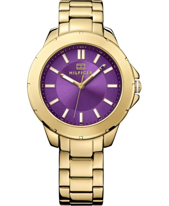 Tommy Hilfiger Women's Gold Ion-Plated Watch 38mm