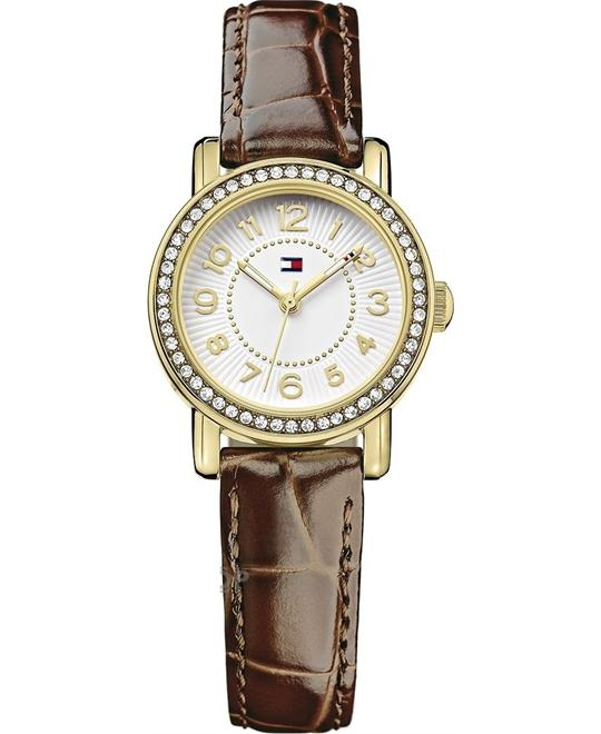 Tommy Hilfiger Women's Quartz Brown Watch 28mm