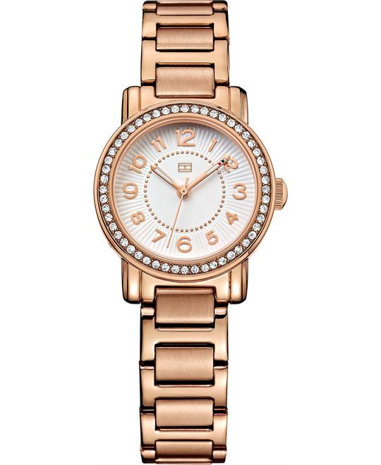 Tommy Hilfiger Women's Rose Gold Ion-Plated Watch 28mm