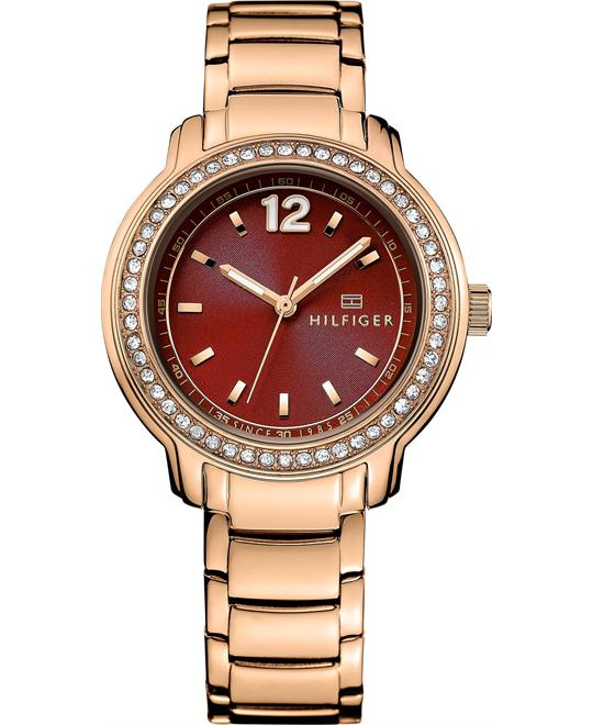 Tommy Hilfiger Women's Rose Gold Ion-Plated Watch 36mm