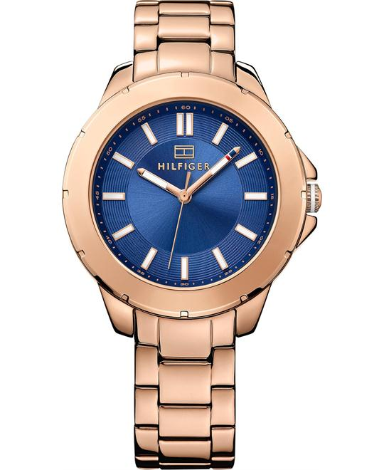 Tommy Hilfiger Women's Rose Gold Ion-Plated Watch 38mm