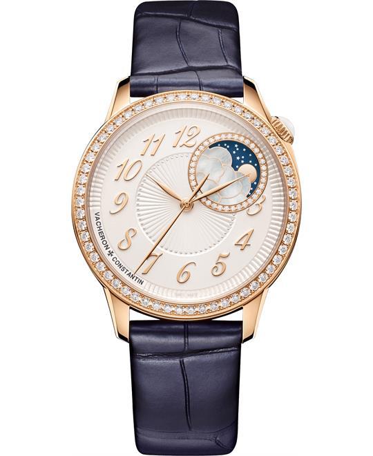 đồng hồ nữ sang trọng Vacheron Constantin 8005F/000R-B498 Egérie Moon Phase 37mm