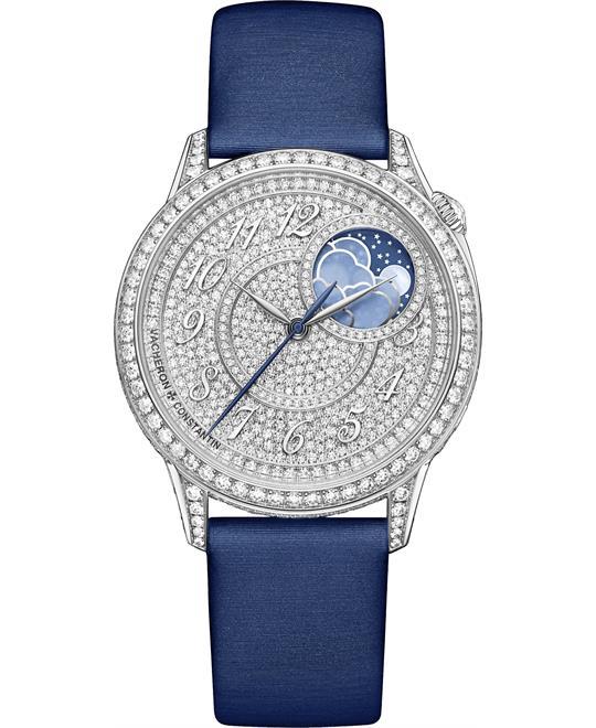 đồng hồ nữ sang trọng Vacheron Constantin 8006F/000G-B499 Egérie Moon Phase 37mm