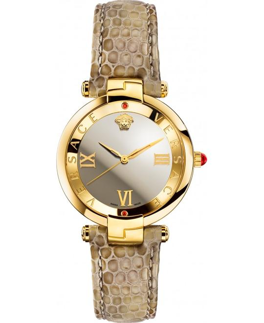 Verdace Revive Mirror Dial Leather Ladies Watch 35mm