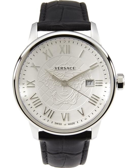 Versace  Business Analog Display Watch 43MM