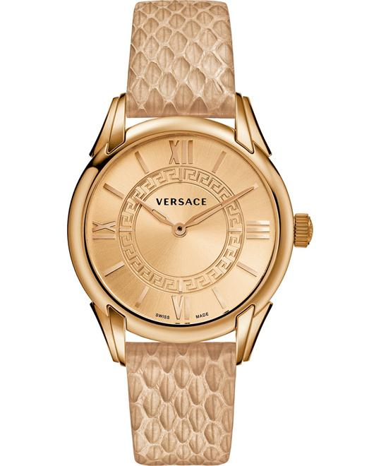 Versace Dafne Rose Gold Ion-Plated Watch 33mm