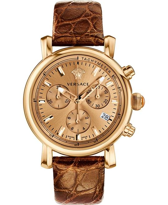 Versace Day Glam Gold-Tone Watch 38mm