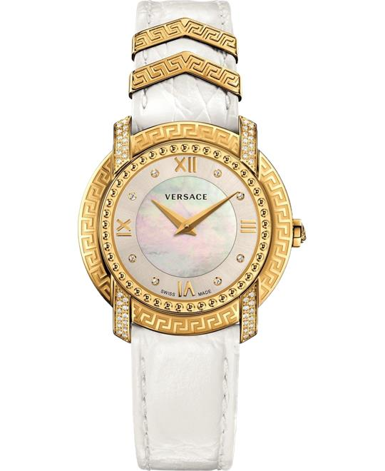 Versace Dv-25 Diamond Swiss Watch 36mm