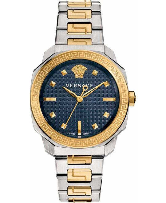 Versace Dylos Swiss Quartz Watch 35mm