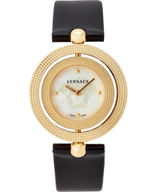 Versace Eon Analog Black Watch 33.5mm