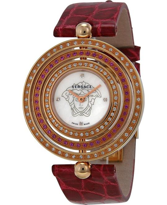 Versace Eon Diamond and Ruby Watch 39mm