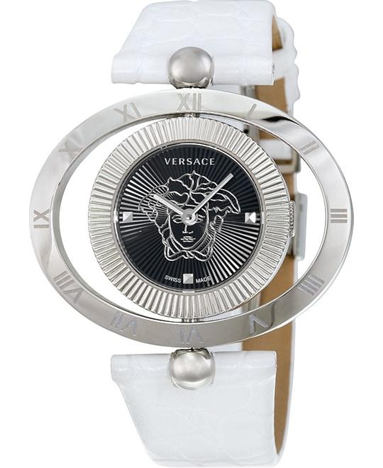 VERSACE Eon Ellipsis White Ladies Watch 40mm