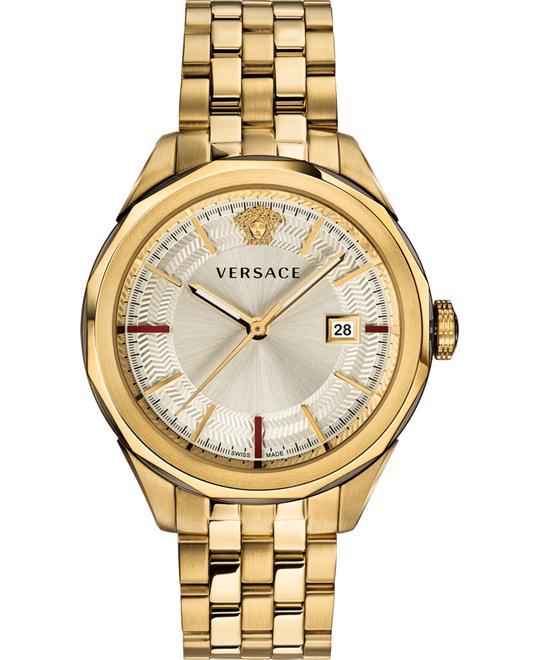 đồng hồ Versace Gold Glaze Watch 43mm