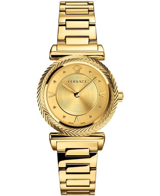 đồng hồ Versace V-Motif Gold Watch 35mm