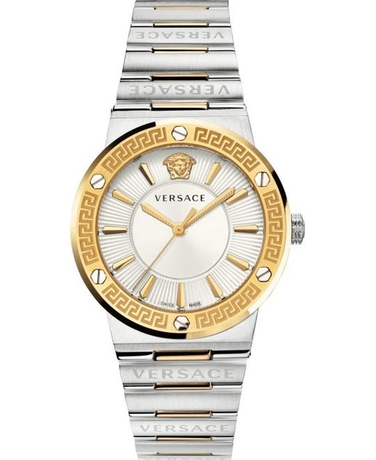 Versace Greca Logo Watch 38mm