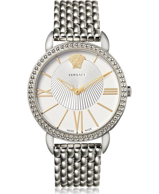 Versace Krios Stainless Steel Watch 38mm
