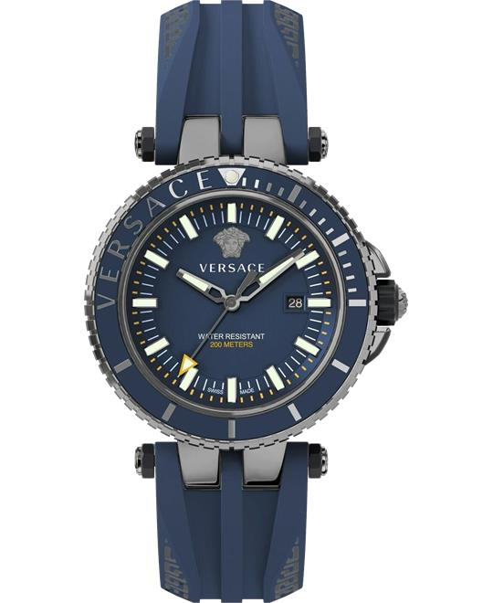 đồng hồ Versace Mens V-Race Diver Watch 46mm