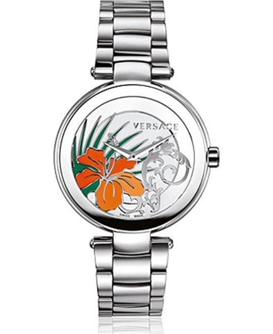 Versace Mystique Silver Sunray Watch 38mm