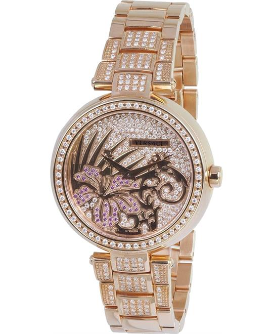 Versace Mystique Swiss Gold Watch 36.5mm