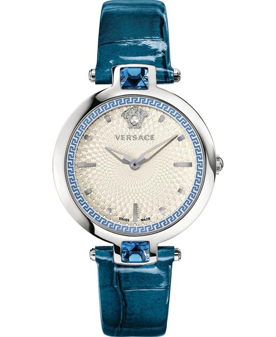 đồng hồ Versace Olympo Crystal Gleam Swiss Watch 37mm