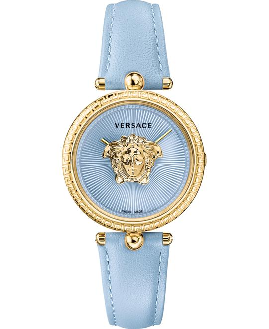 Versace Palazzo Empire Blue Watch 34mm